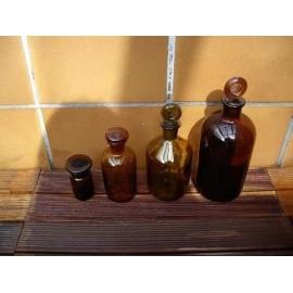 Frascos Vintage Farmacia Juego