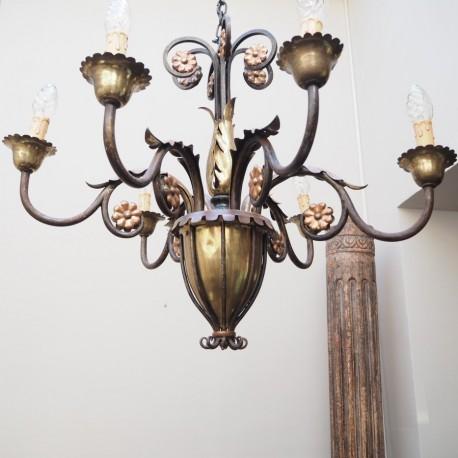 Lámpara de Hierro Francia