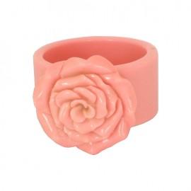 Brazalete Bakelite rosa