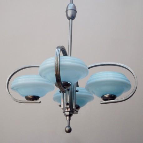 Lámpara Art Déco techo