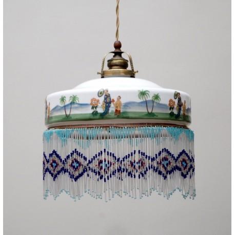 Lámpara Decó Shangai