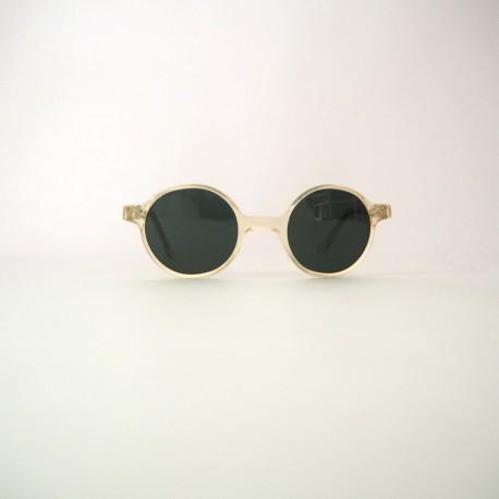 Gafa sol pasta transparente años 70