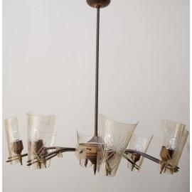 Lámpara Araña años 50