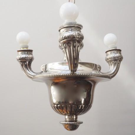 Lámpara Vintage Plateada