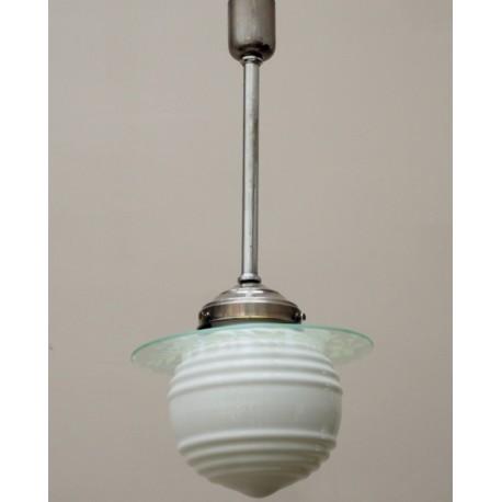 Lámpara Decó Cristal años 30