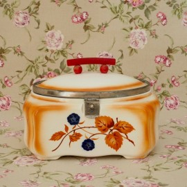 Caja Porcelana Decó