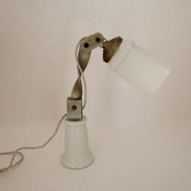 Lámpara Tulipa de Porcelana Vintage