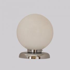Lámpara Vintage Globo Cristal