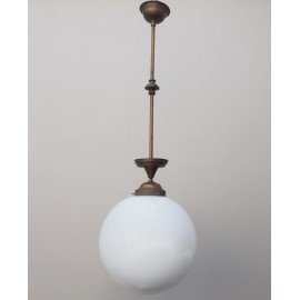 Lámpara Decó Globo Techo
