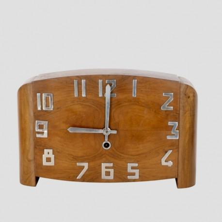 Reloj ARTDÉCO mesa madera