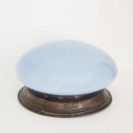 Foco Vintage opalina azul