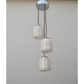 Lámpara Tres Opalinas