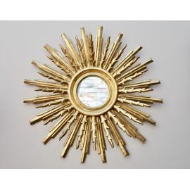 Espejo Sol Madera Vintage
