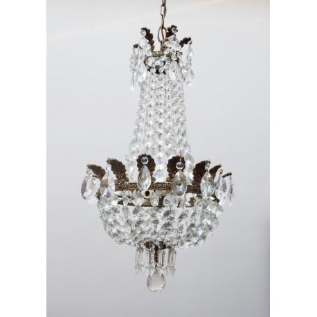 Lámpara Cristal Francesa